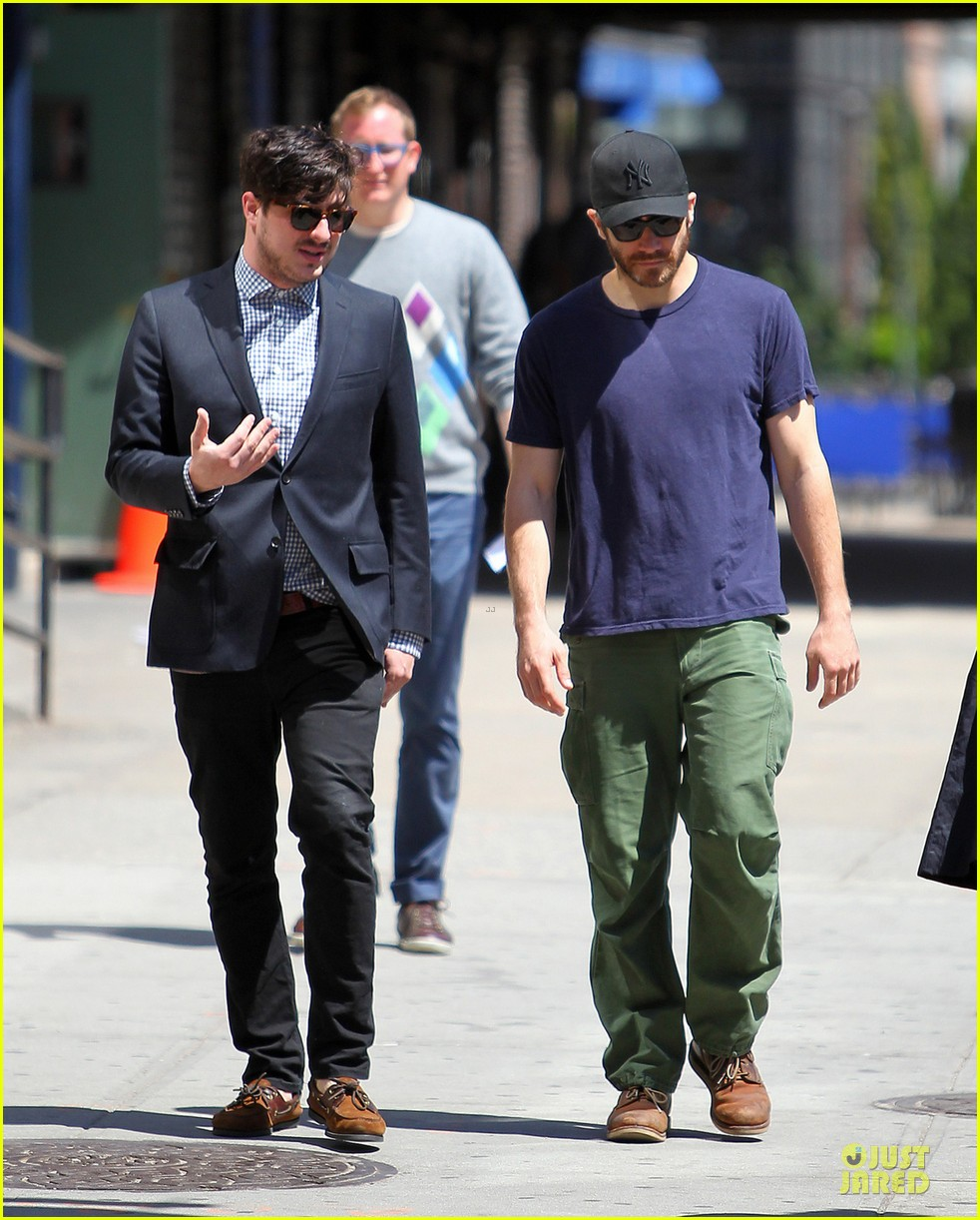 jake gyllenhaal marcus mumford east village bonding 012861450