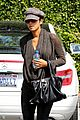 halle berry rocks leather pants while shopping 12