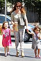 alyson hannigan grabs coffee after keevas first birthday 08