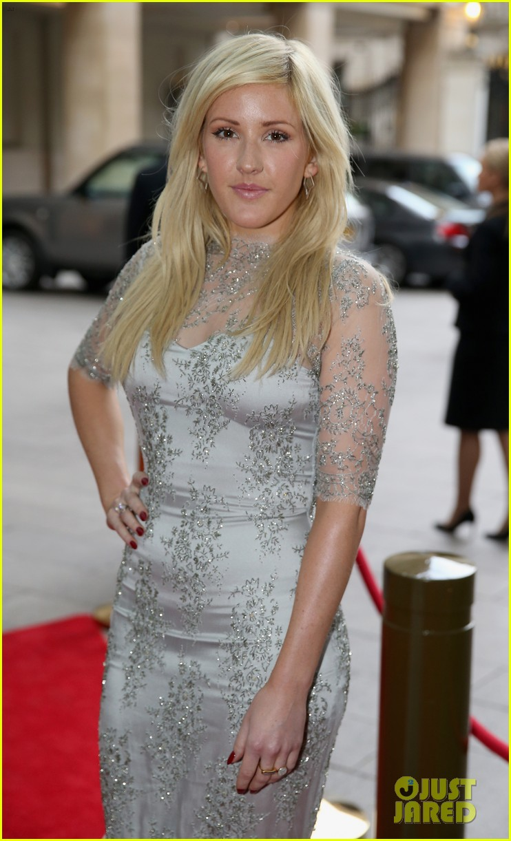 prince harry ellie goulding walking with the wounded gala 042881092