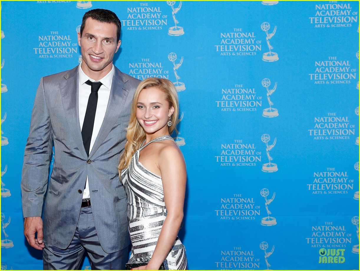 hayden panettiere wladimir klitschko sports emmy awards reception 062866332