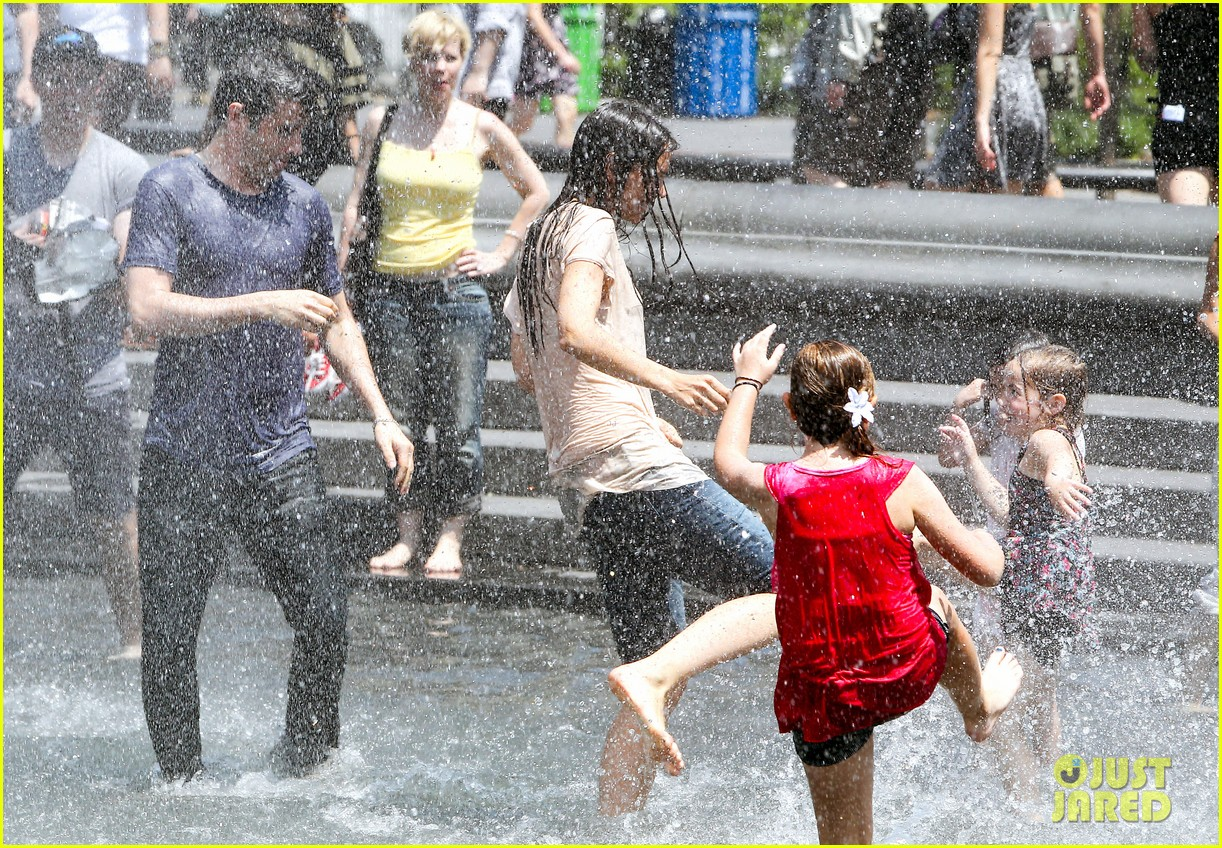 katie holmes soaking wet for mania days 232875560