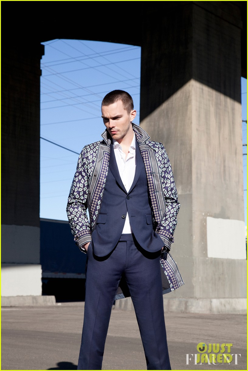 nicholas hoult flaunt magazine photo spread 012869621