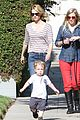 january jones xander walks in front of mommy 24