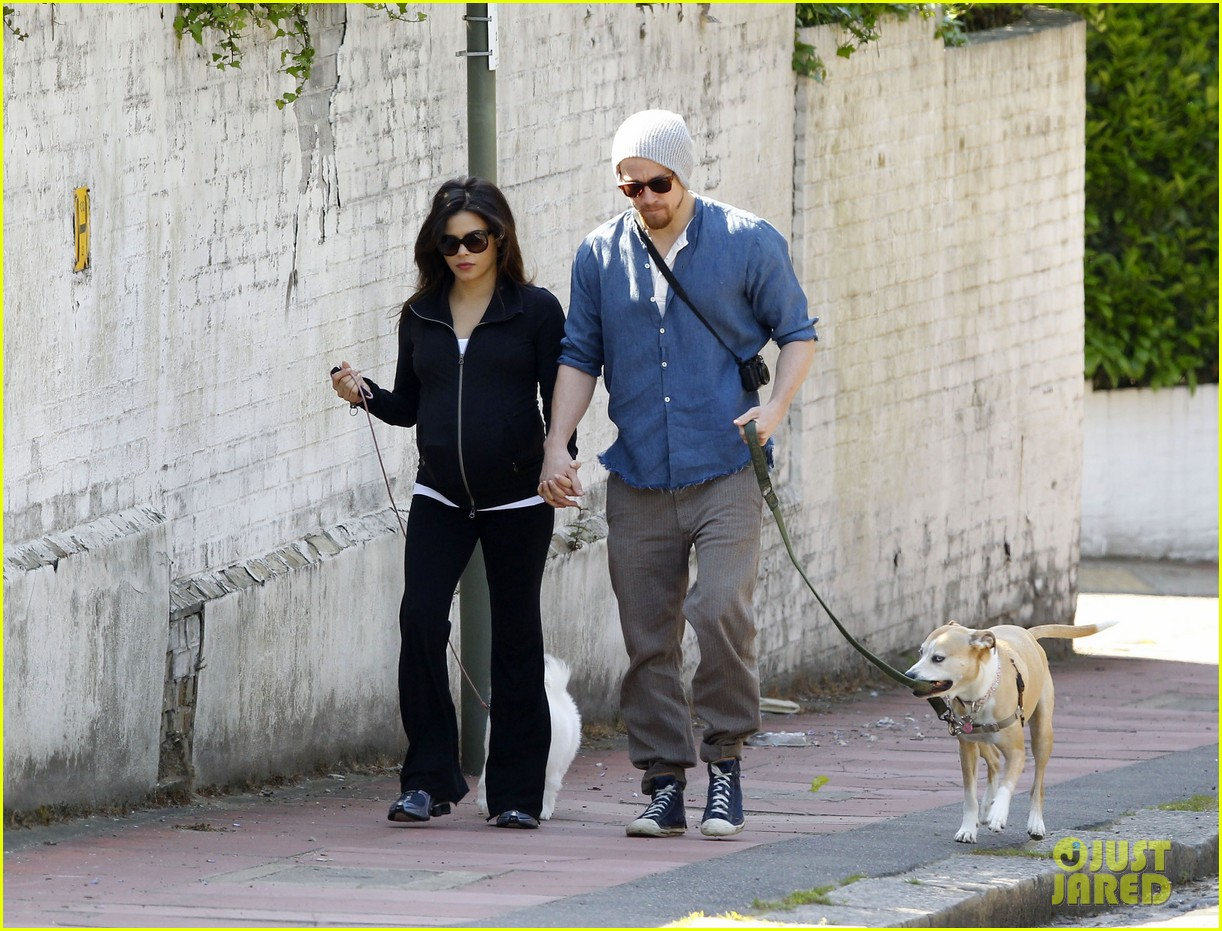 channing tatum jenna dewan take a dog walk following vet visit 132879112