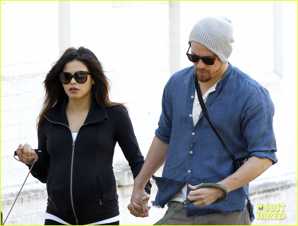 channing tatum jenna dewan take a dog walk following vet visit 192879118