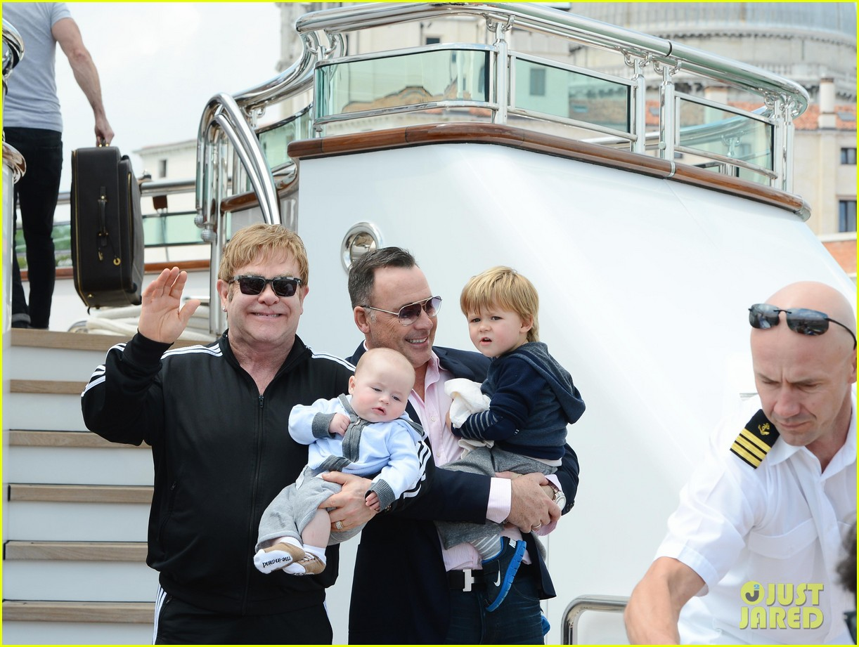 elton john david furniss family trip with zachary elijah 11