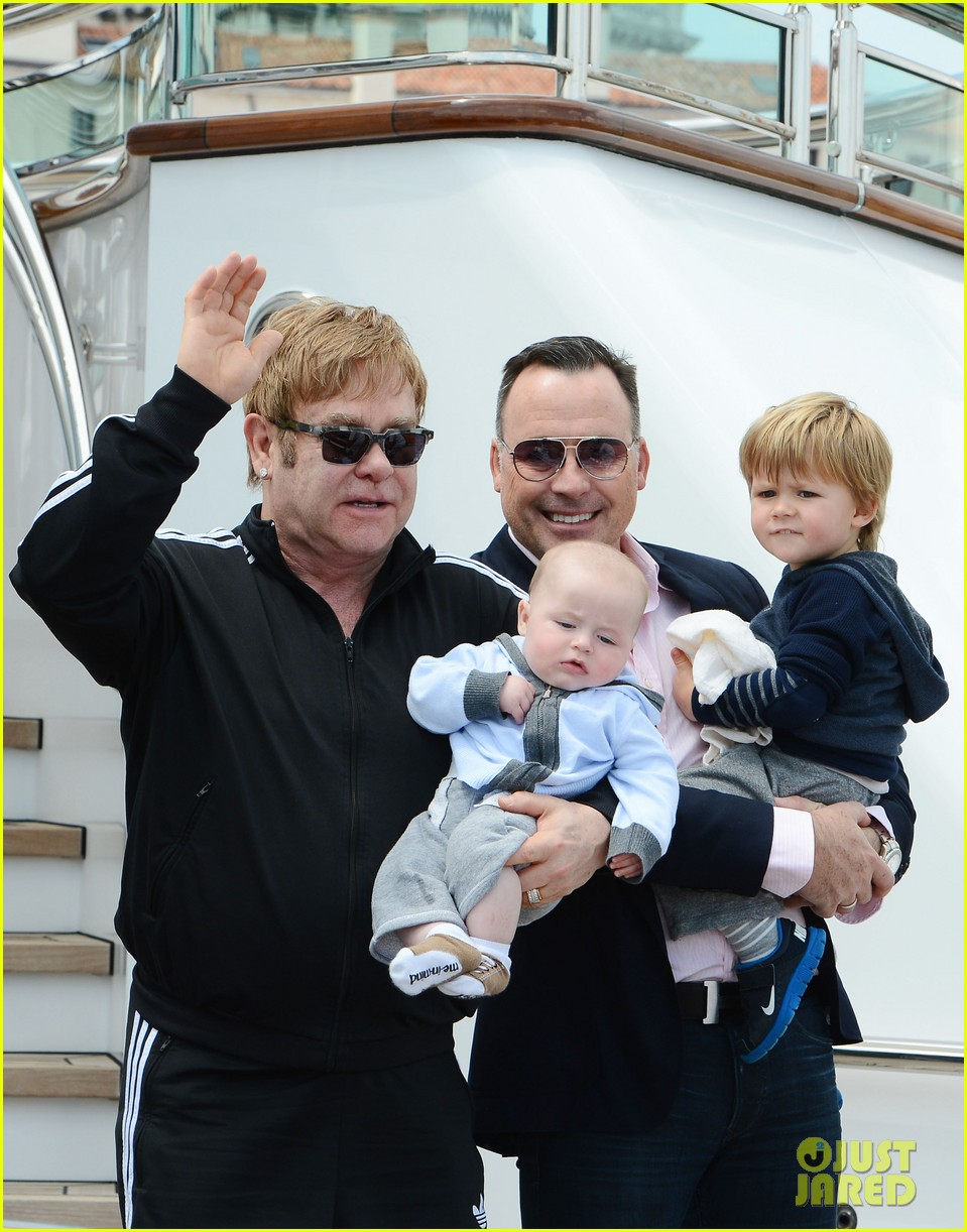 elton john david furniss family trip with zachary elijah 16