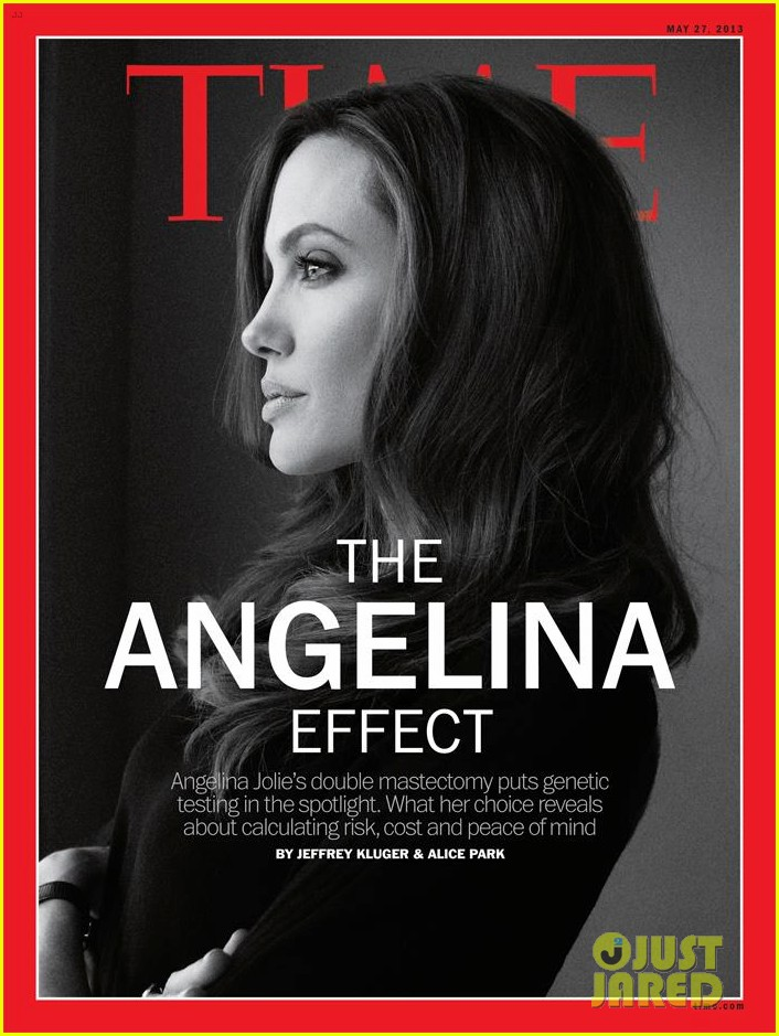 angelina jolie covers time magazine after mastectomy