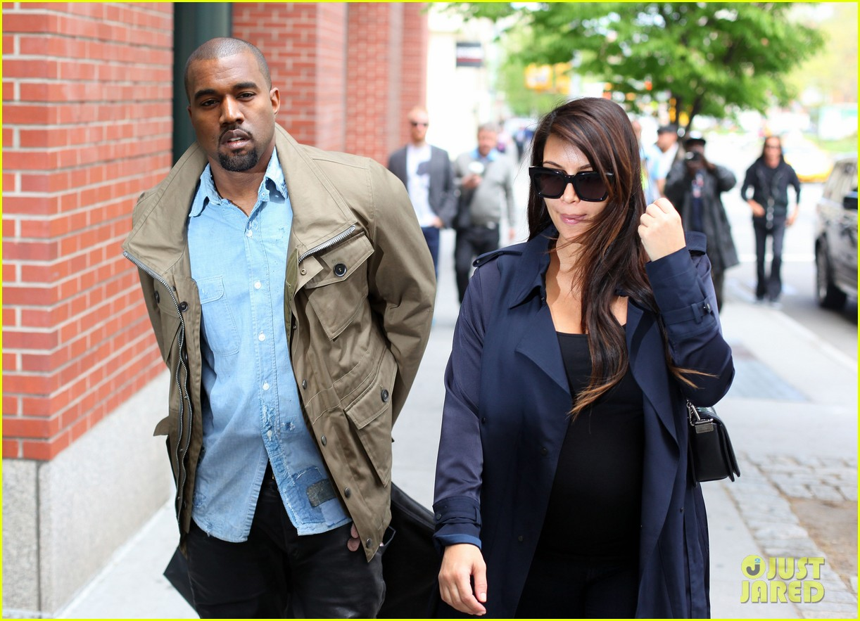 kim kardashian kanye west dine at anna wintours home pre met ball 13