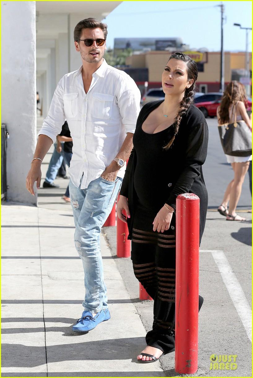 kim kardashian sheer baby bump celebration 06