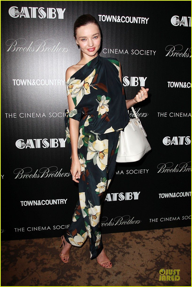 miranda kerr the great gatsby nyc screening 032866213