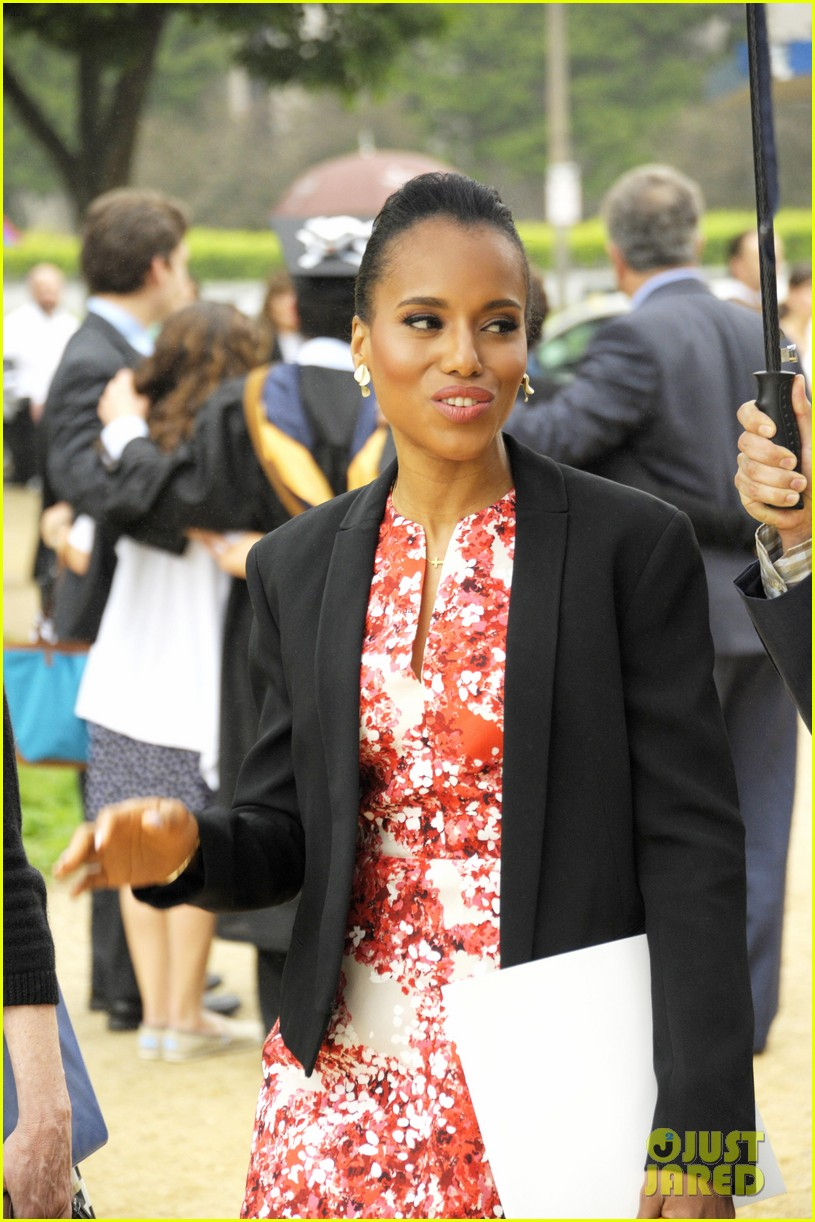 kerry washington receives george washington university honorary degree 04