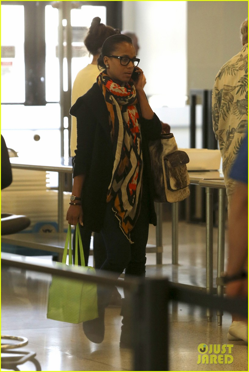 kerry washington jets to new york city 01