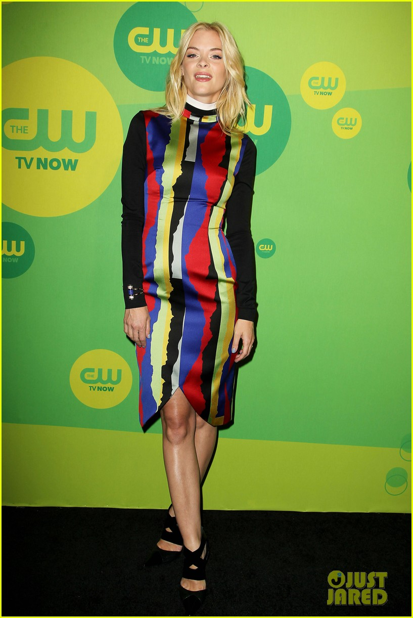 jaime king baby bump at hart of dixie cw upfront 12