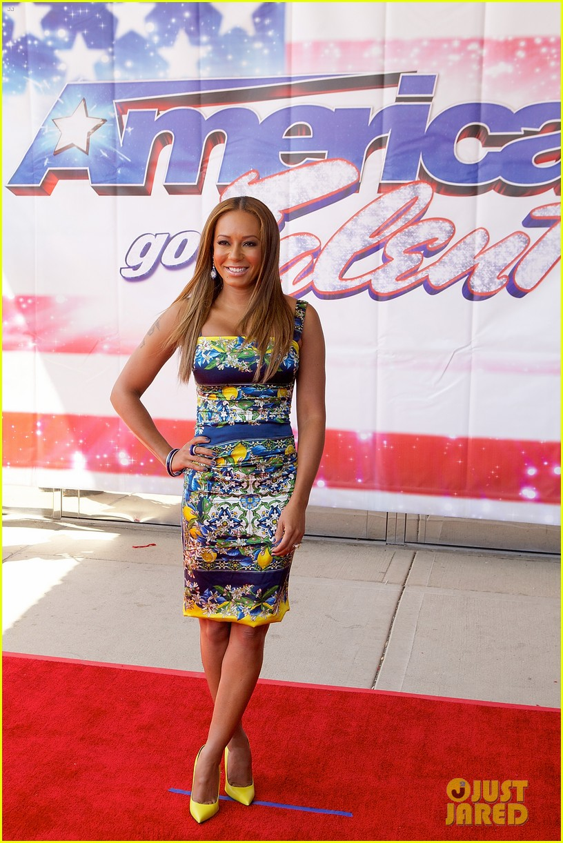 heidi klum mel b americas got talent in illinois 182867090