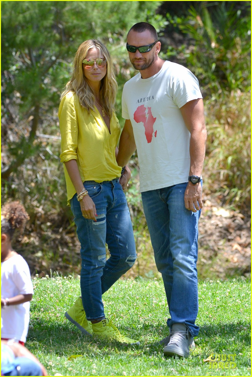 heidi klum martin kirsten pda weekend couple 082875070