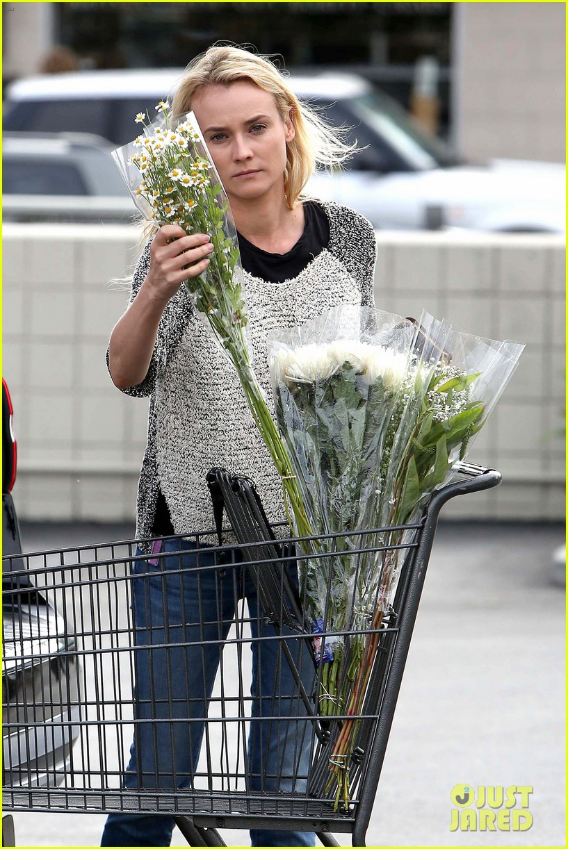 diane kruger flower fabulous after met ball trip 082866873