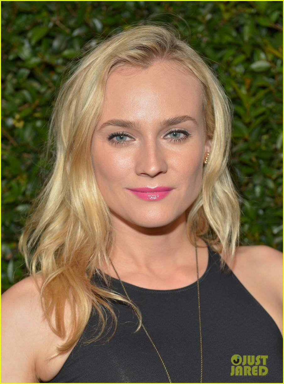 diane kruger joshua jackson vogue mac cosmetics dinner 09