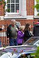 mila kunis ashton kutcher london coffee with the parents 30