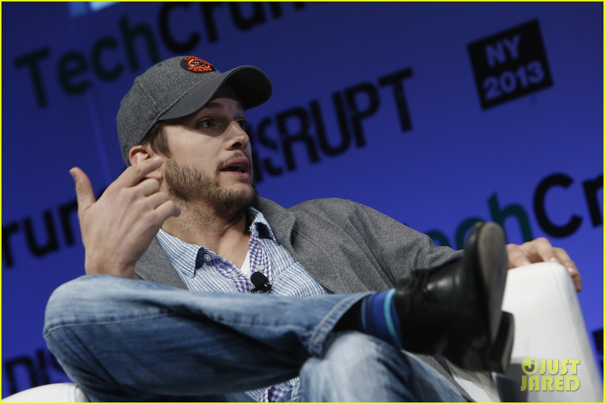 ashton kutcher techcrunch disrupt ny 10