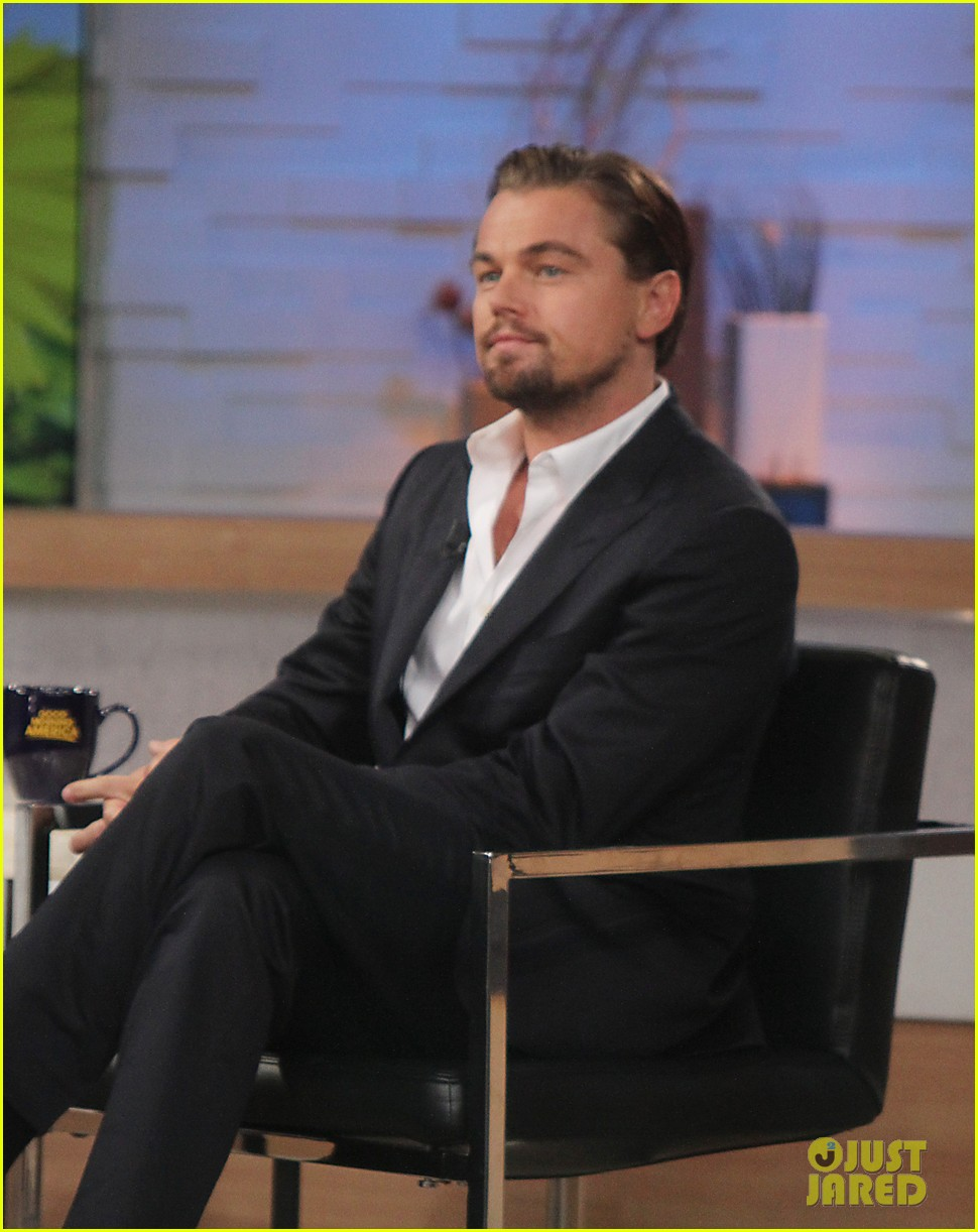 leonardo dicaprio good morning america guest 06