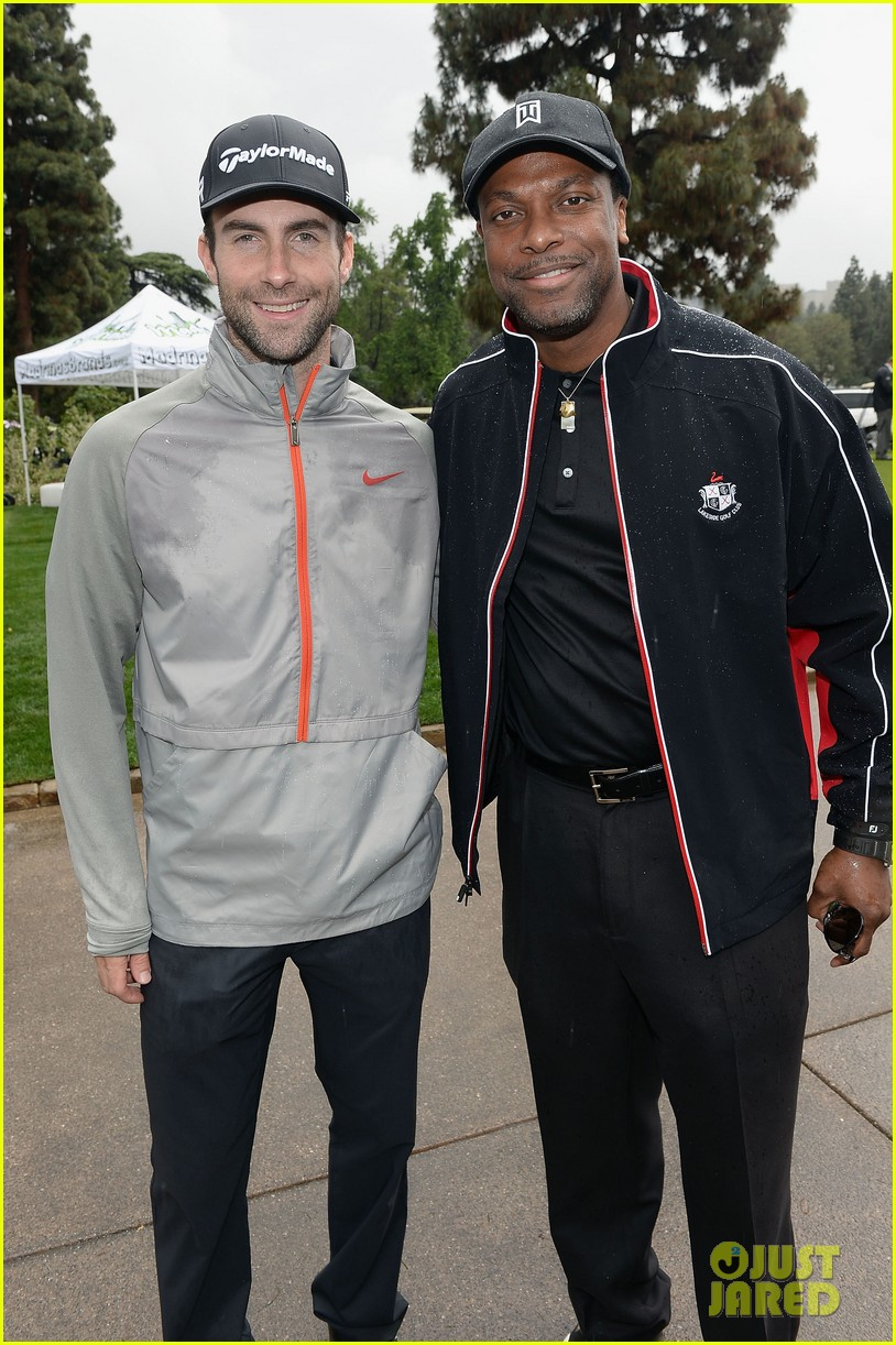 adam levine george lopez celebrity golf classic 2013 13