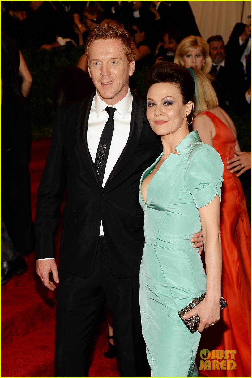 damian lewis morgan saylor met ball 2013 red carpet 02