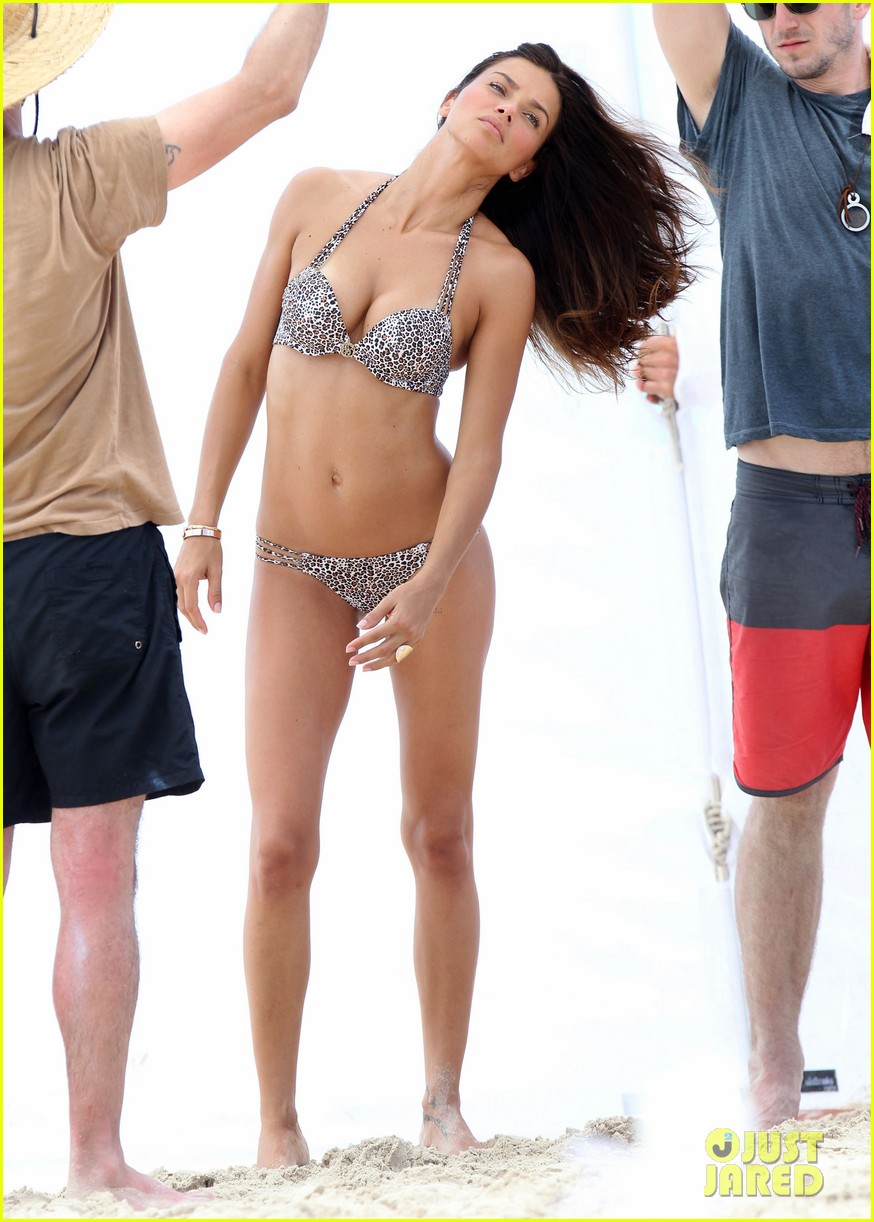 adriana lima bikini victorias secret photo shoot 332866620