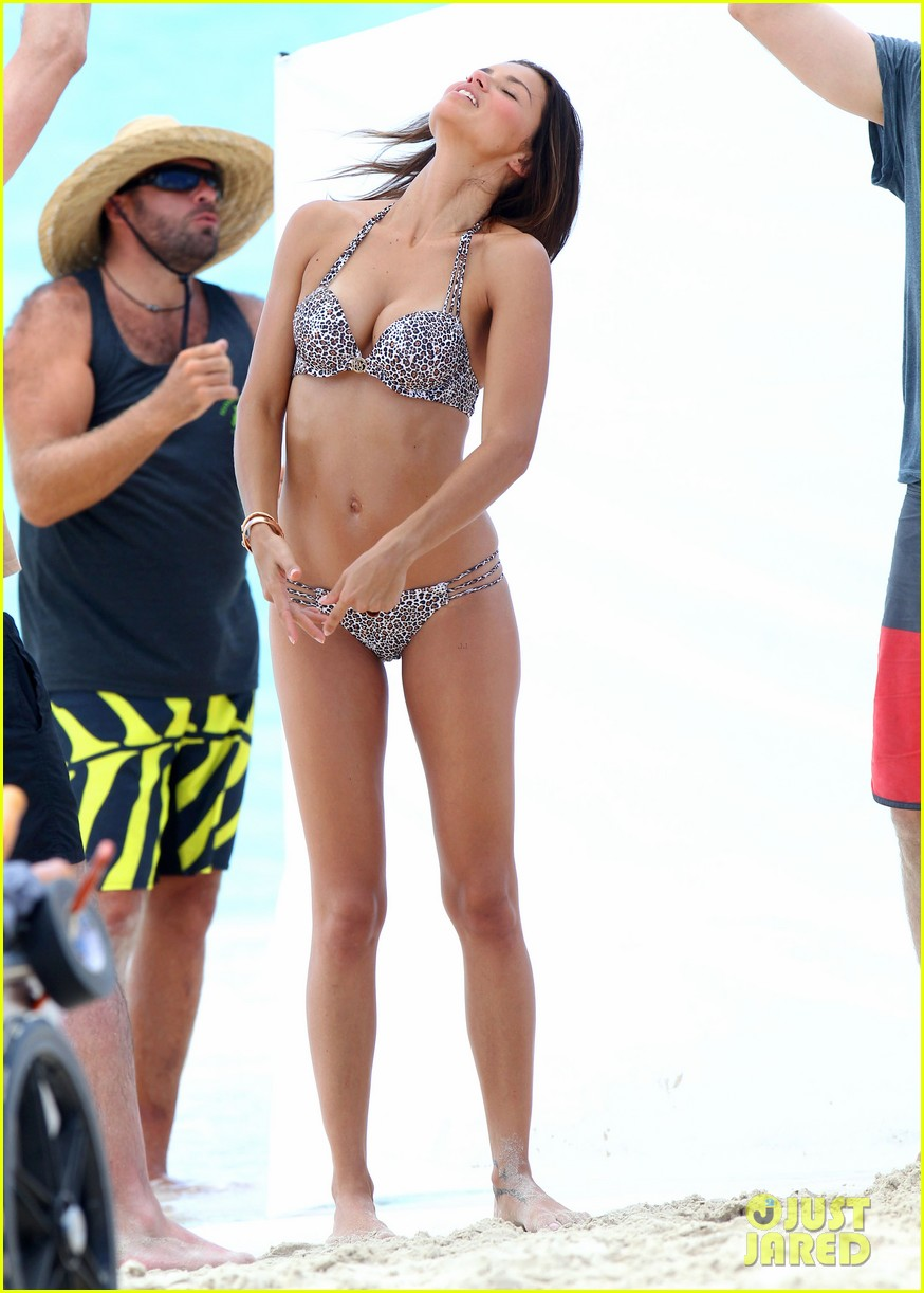 adriana lima bikini victorias secret photo shoot 352866622