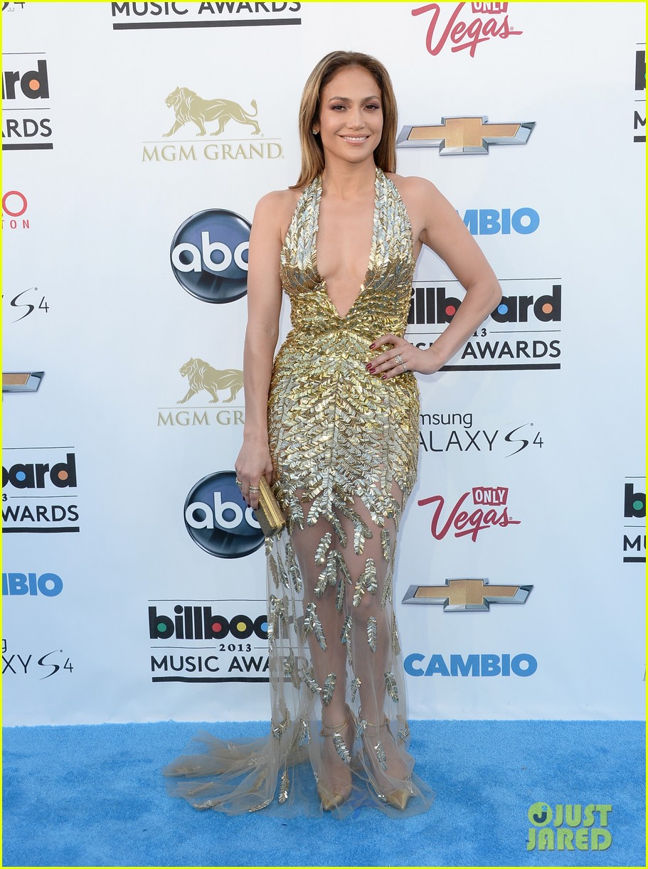 jennifer lopez billboard music awards 2013 with casper smart 082874004
