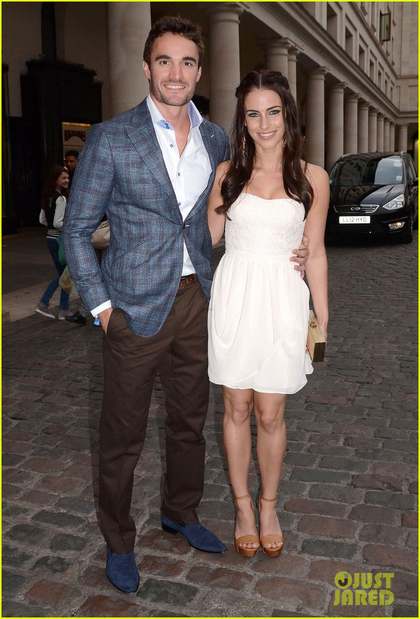 jessica lowndes thom evans casio london birthday party 01