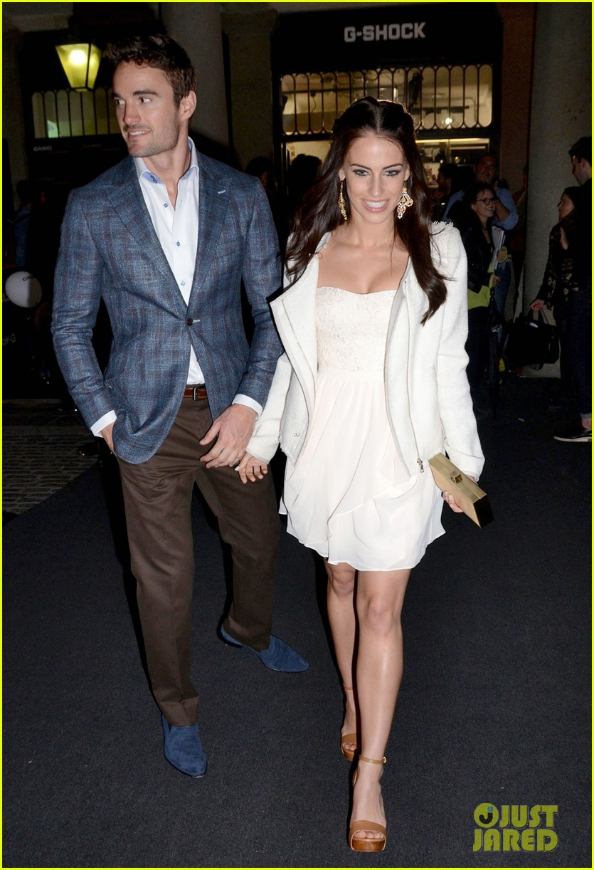 jessica lowndes thom evans casio london birthday party 08