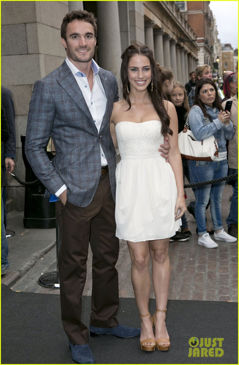jessica lowndes thom evans casio london birthday party 12