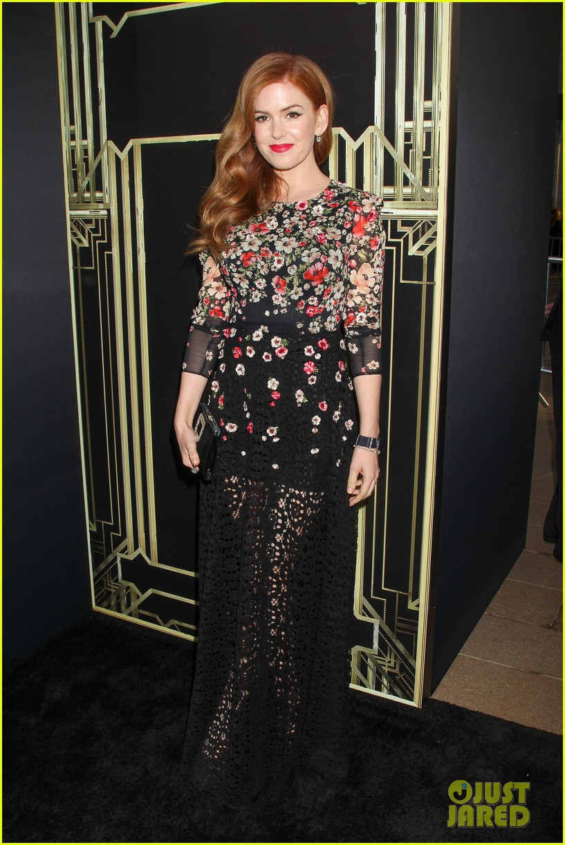 tobey maguire isla fisher great gatsby premiere 012862036