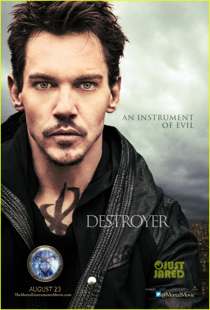 jonathan rhys meyers mortal instruments exclusive poster2867425