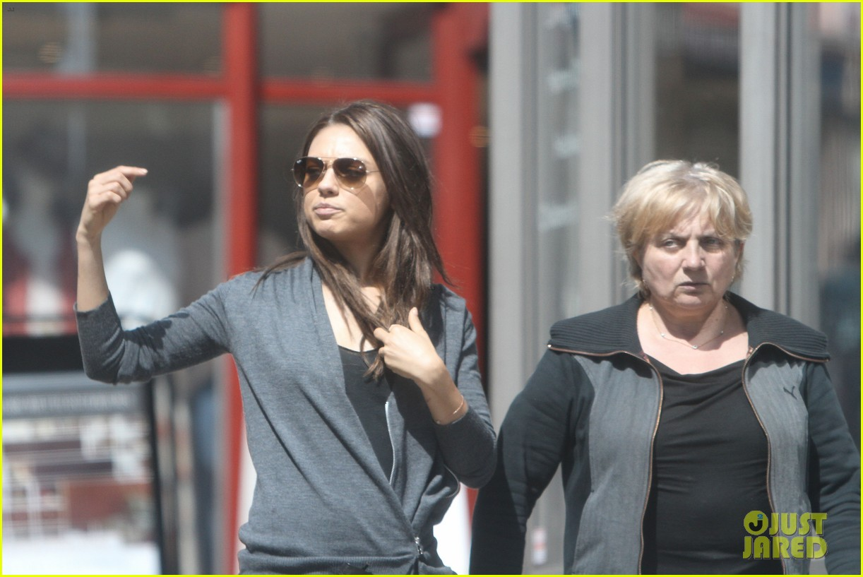 mila kunis takes a london stroll with her parents 13