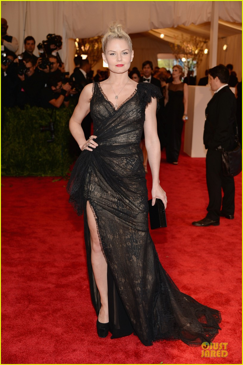 jennifer morrison met ball 2013 red carpet 032865062