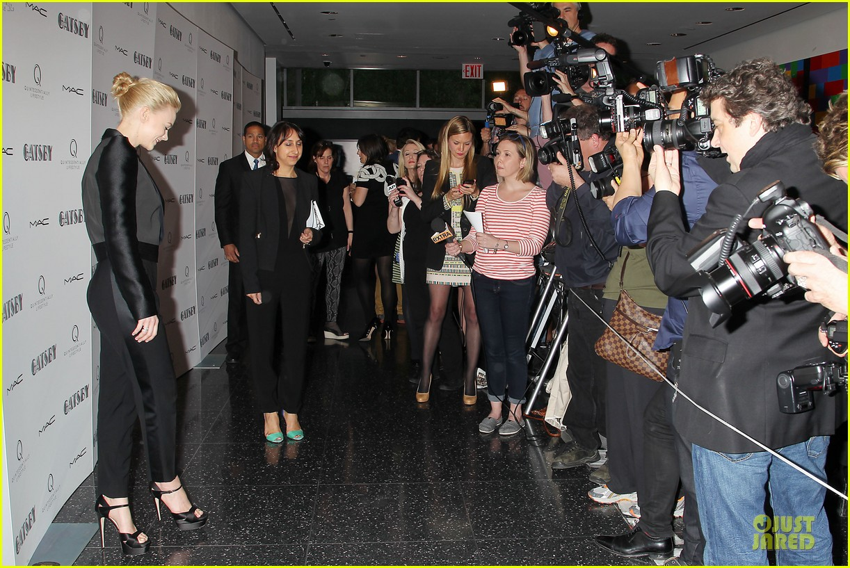 carey mulligan pre met ball great gatsby screening 132864557
