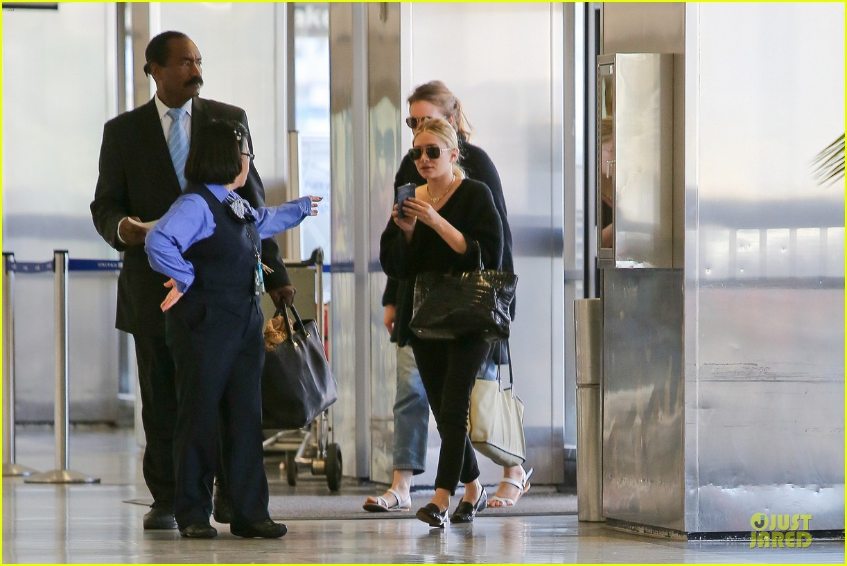ashley olsen memorial day lax departure 01