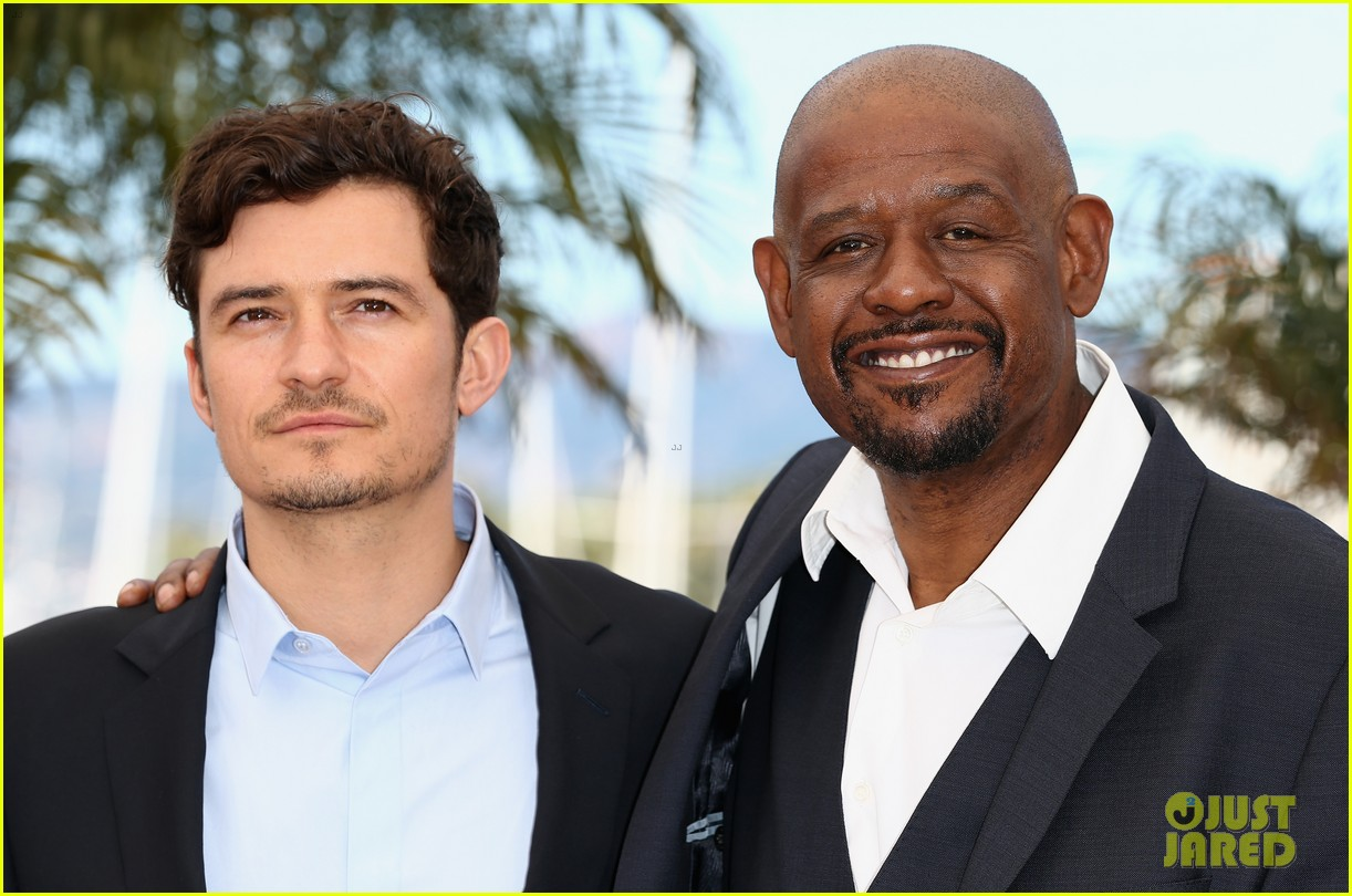 orlando bloom forest whitaker zulu photo call 17