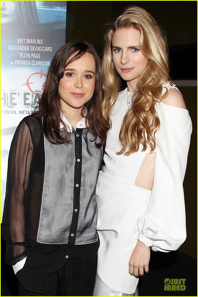 ellen page brit marling the east new york premiere 02