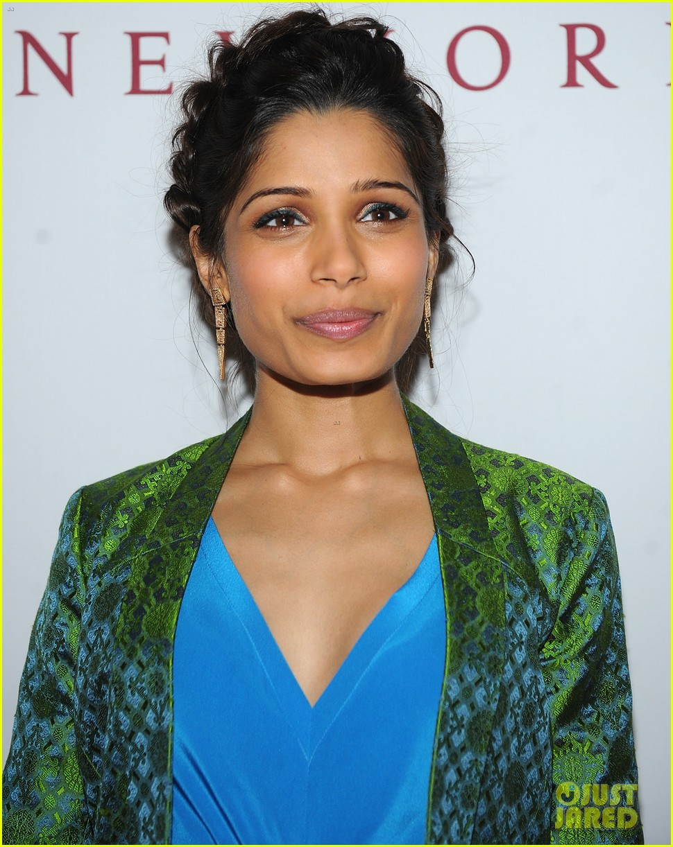 freida pinto maiyet varanasi silk capsule collection dinner 122867690