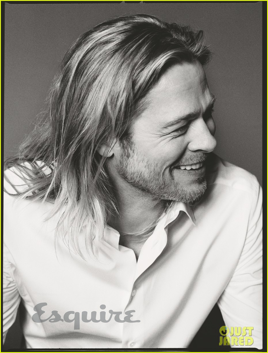 brad pitt to esquire i havent known life to be any happier 02
