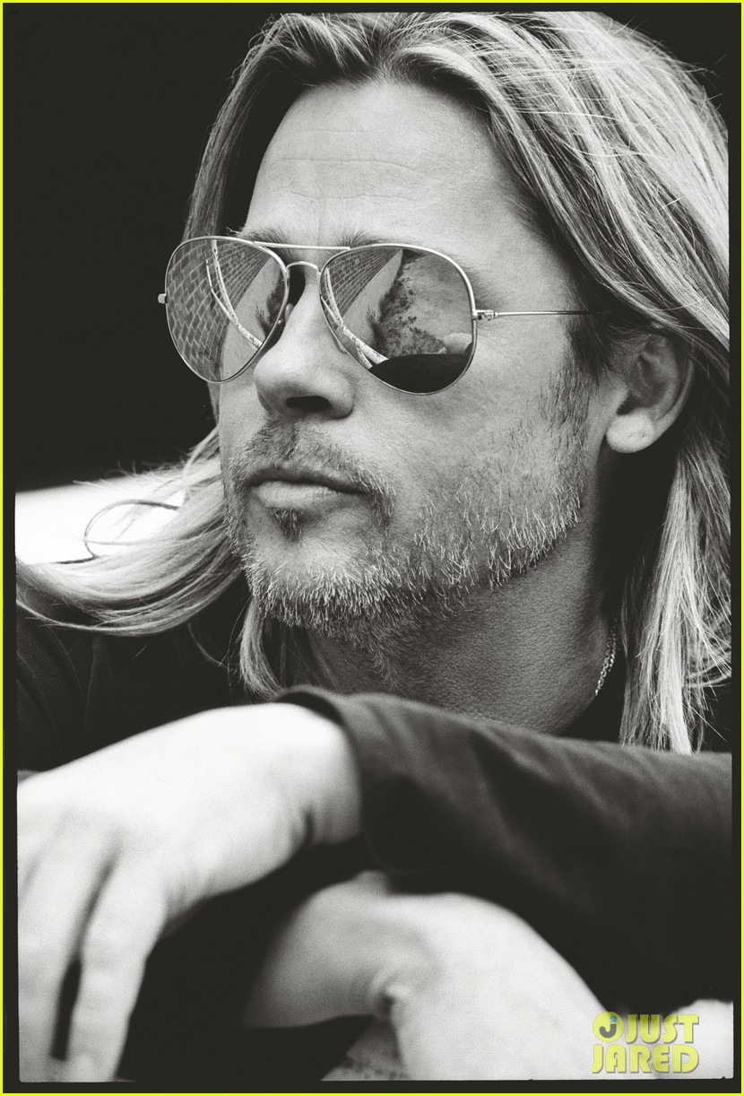 brad pitt to esquire i havent known life to be any happier 04