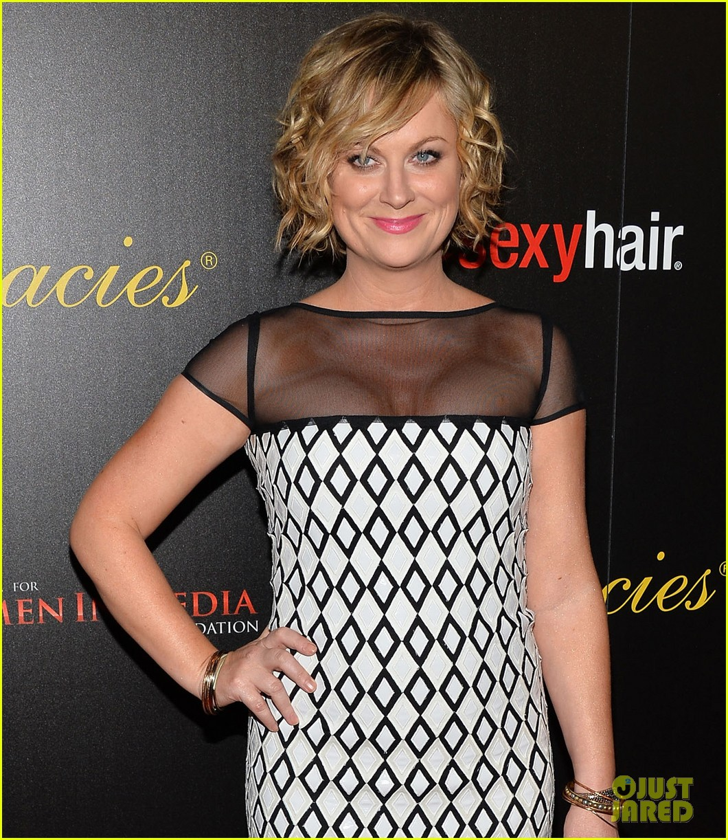 amy poehler adam scott 2013 gracie awards gala 072876065