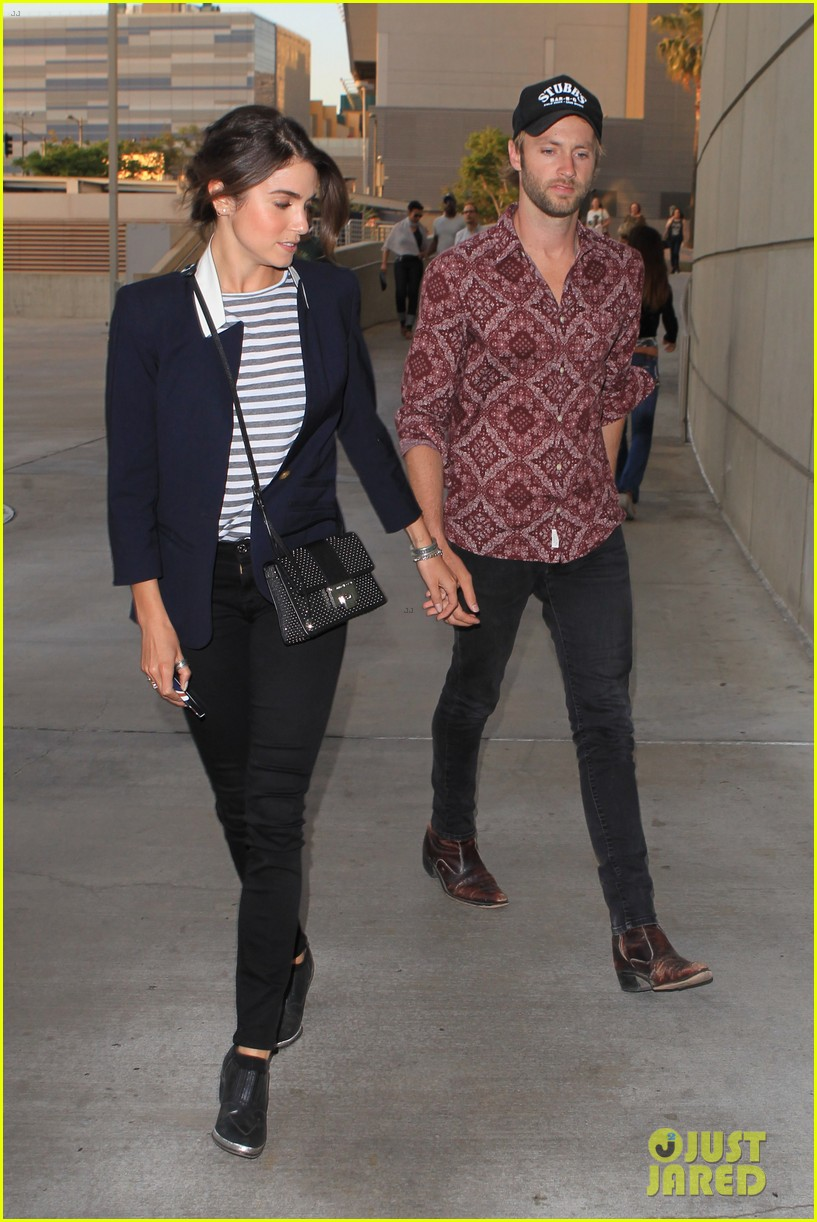 nikki reed paul mcdonald rolling stones concert couple 04