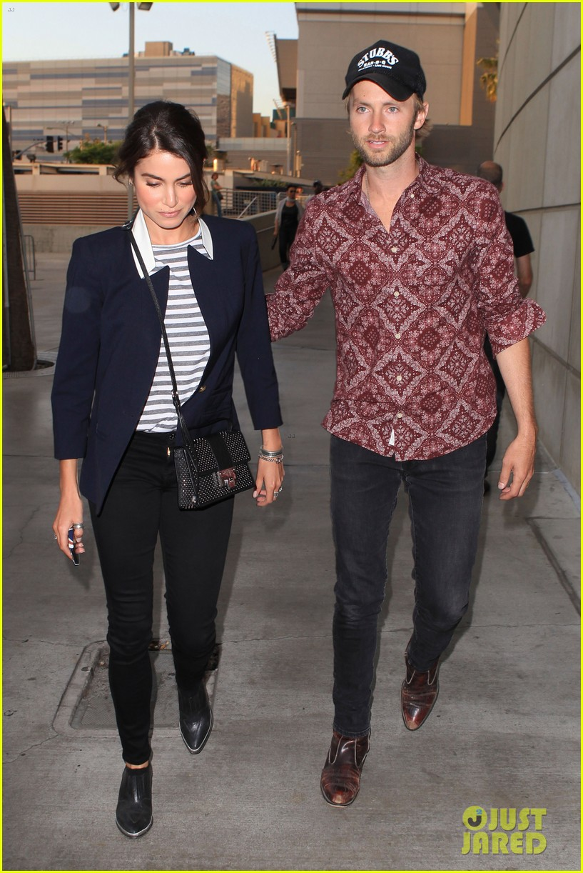 nikki reed paul mcdonald rolling stones concert couple 052864071