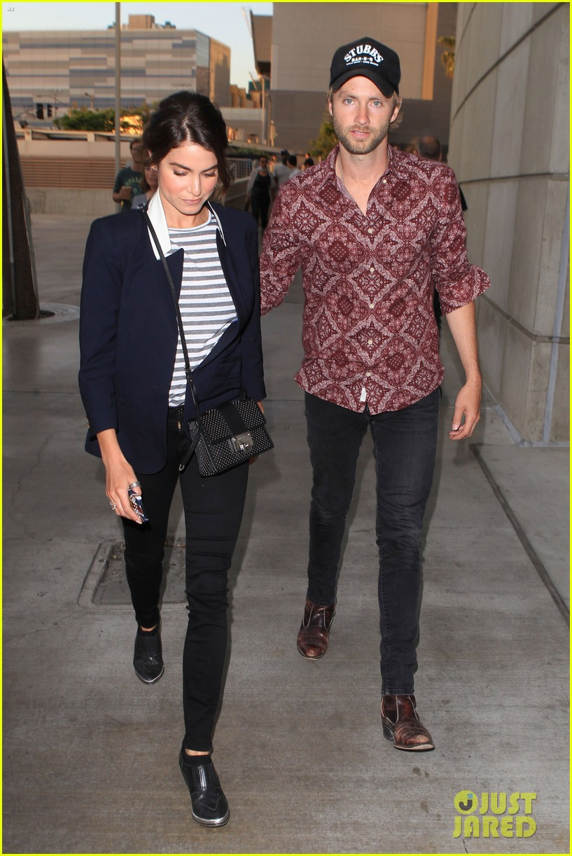 nikki reed paul mcdonald rolling stones concert couple 112864077