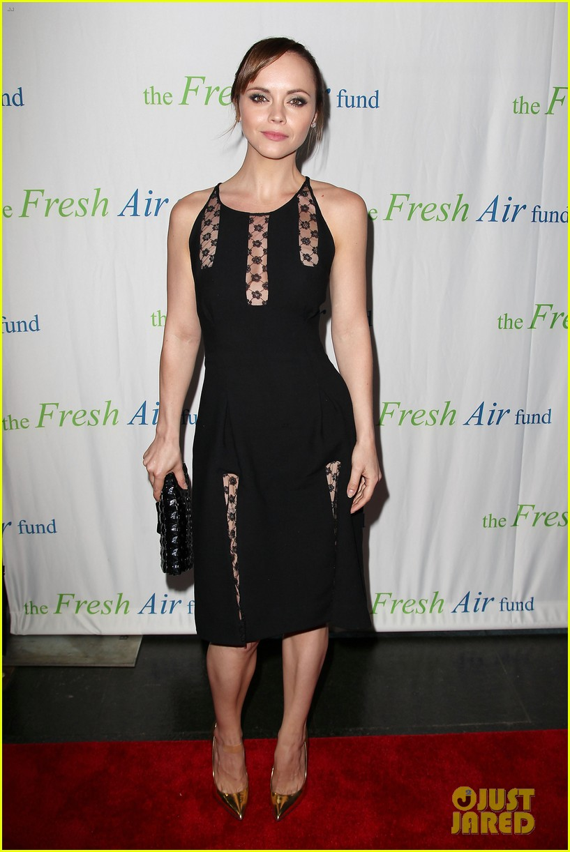 christina ricci fresh air fund event with victor cruz 032881071